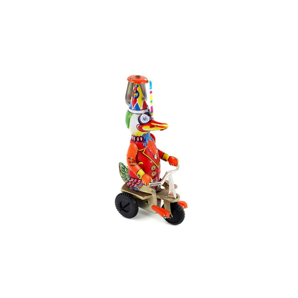Toy Duck on a Bike