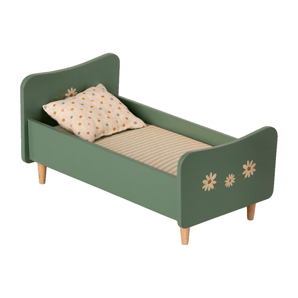 Wooden Bed Mini Mint blue