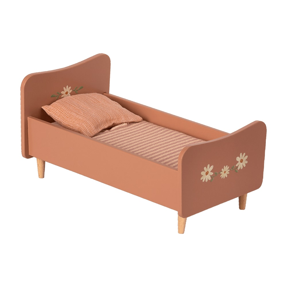 Wooden Bed Mini Rose