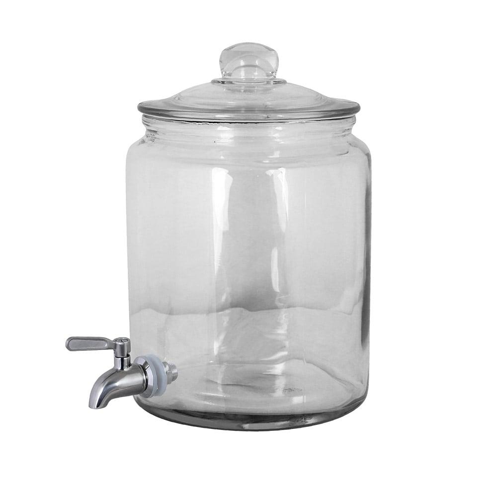 Glass Jar w. Stainless Steel Tap 6 L