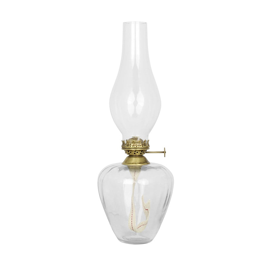 Kerosene Lamp Elisabeth Round High Antique Brass