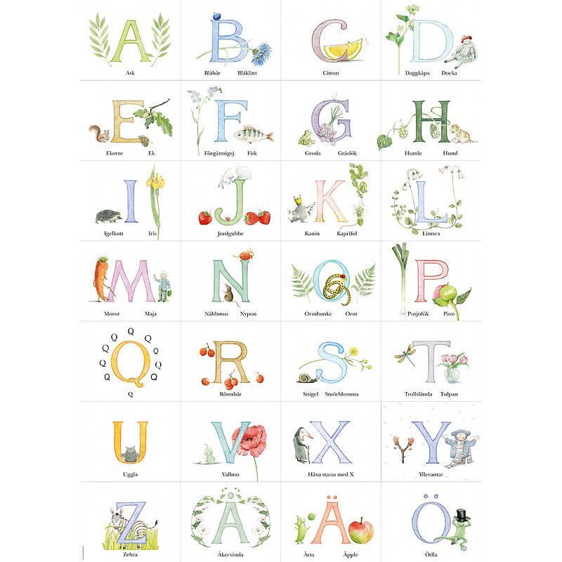 Poster Maja's ABC