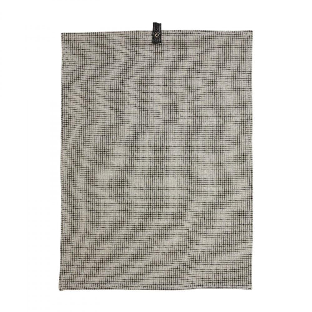 Tea Towel Rasmus White/Grey