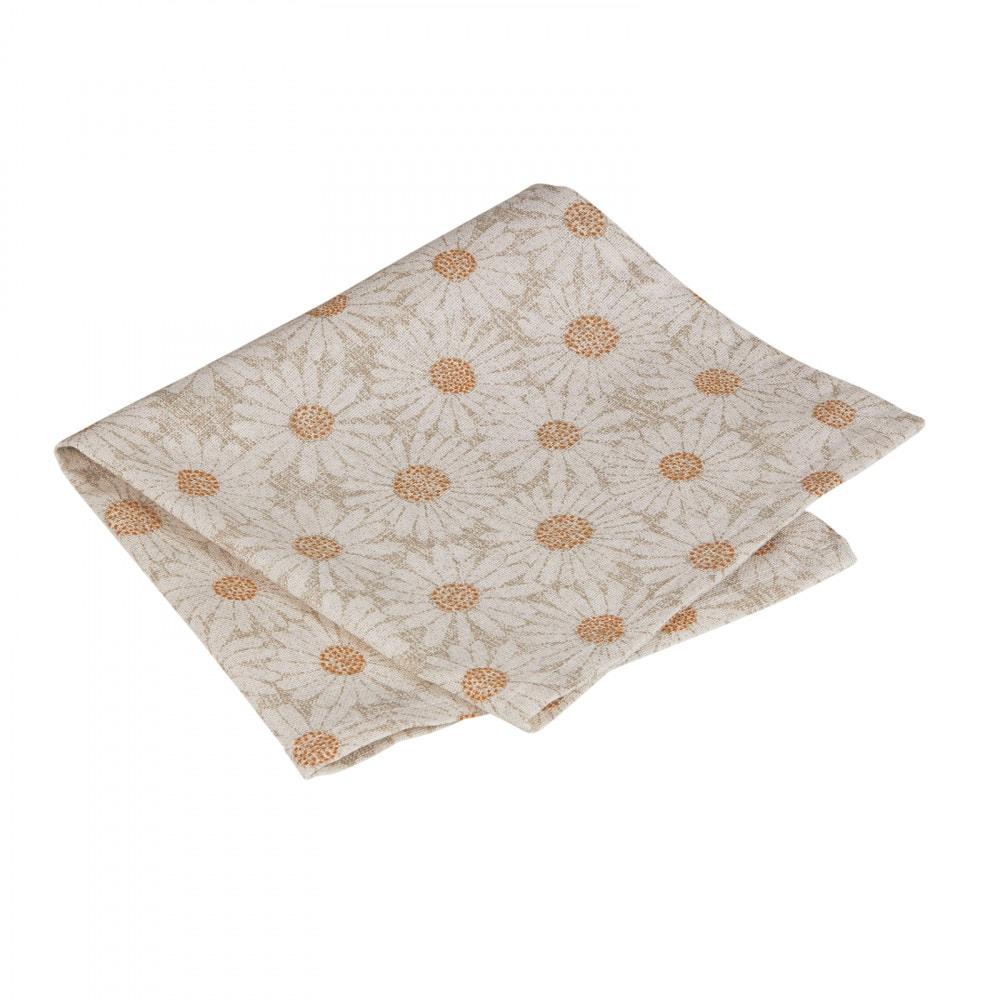 Table Cloth/Napkin Daisy Linen