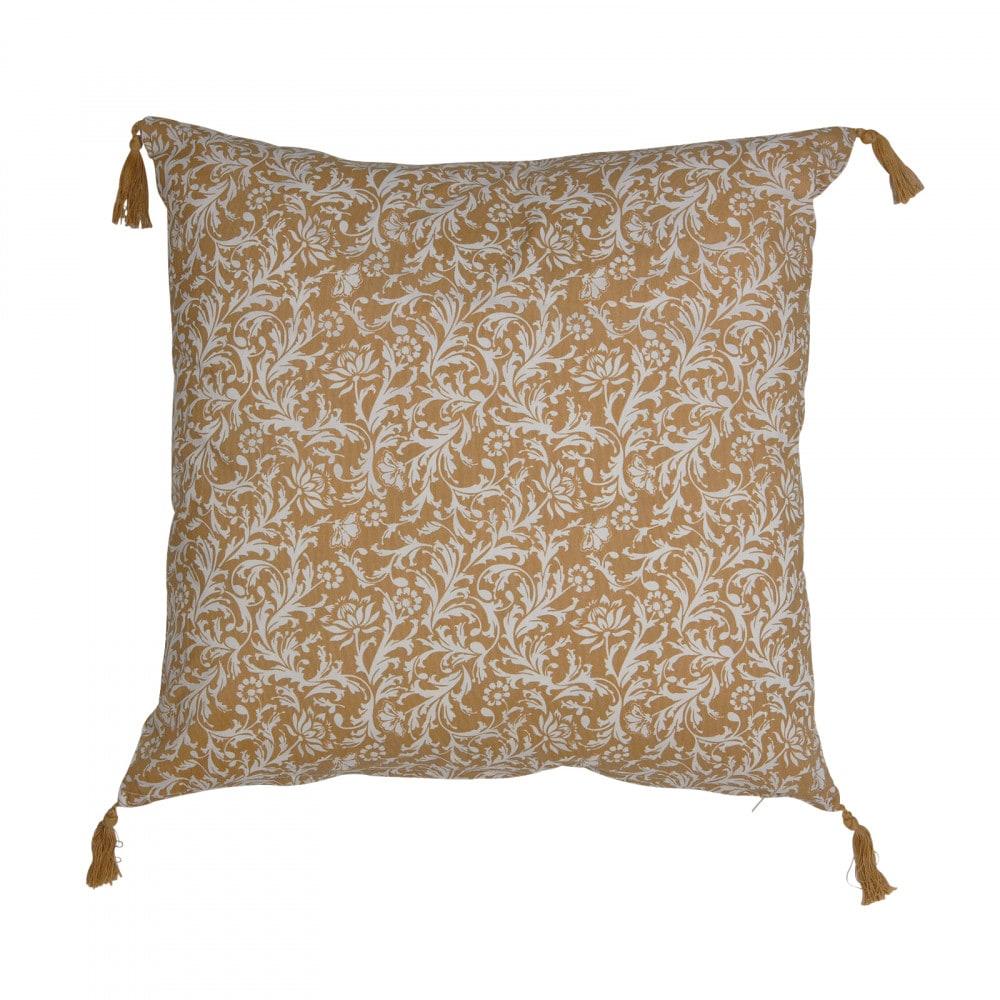Cushion Cover Namaste Yellow
