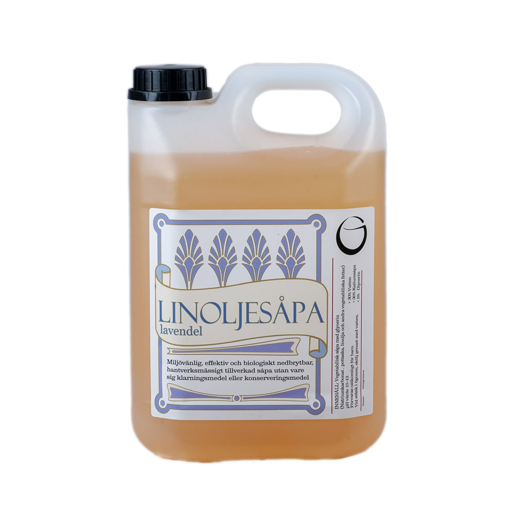 Linseed Oil Soap Lavender 2,5 L