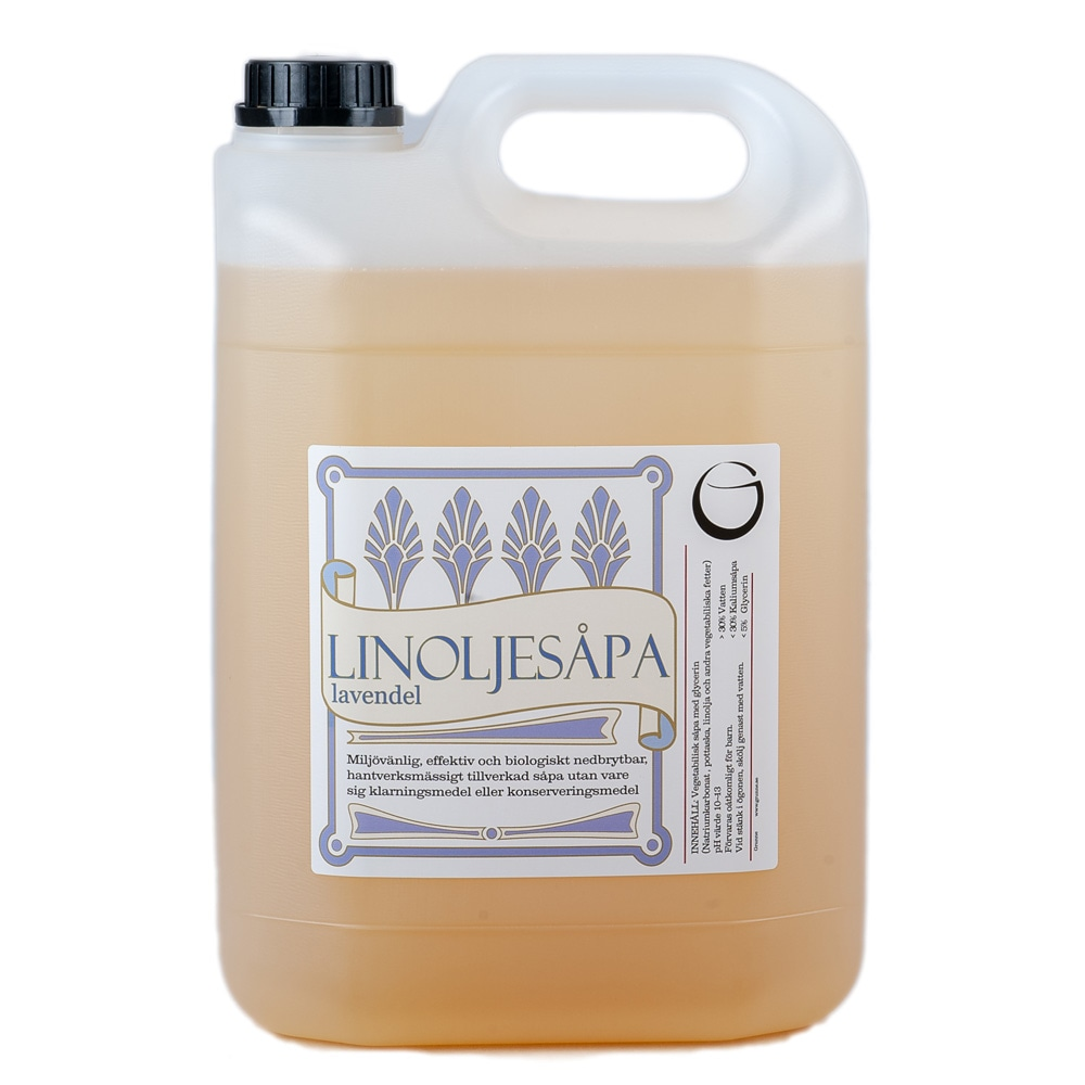 Linseed Oil Soap Lavender 5 L