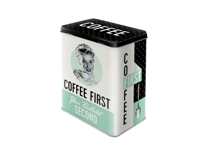 Tin Coffee First