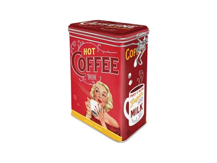Tin Hot Coffee Now