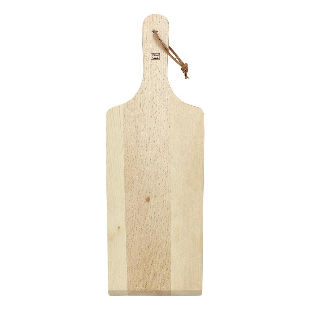 Cutting Board w. Leather Strap Large