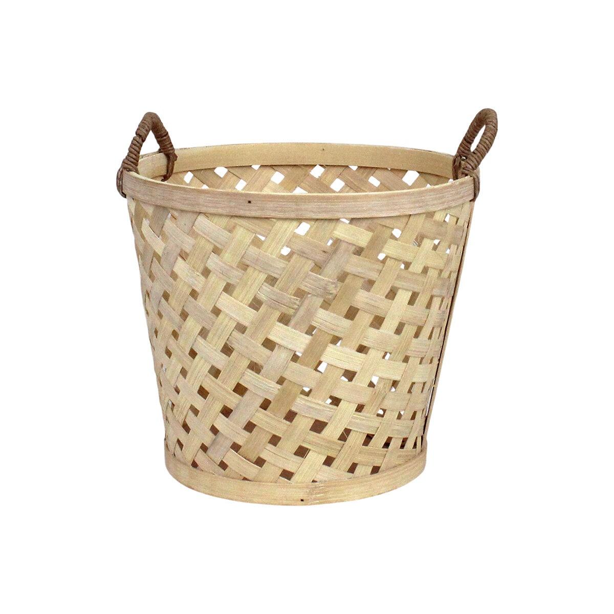Coned Basket w. Handle Ida Small Nature