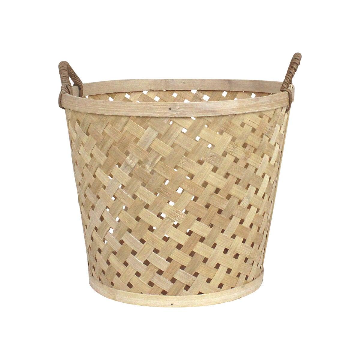 Coned Basket w. Handle Ida Medium Nature