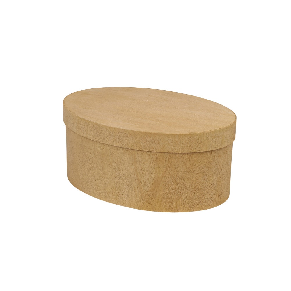 Wooden Box Bertil Oval Small