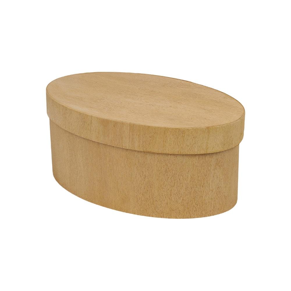 Wooden Box Bertil Oval Large