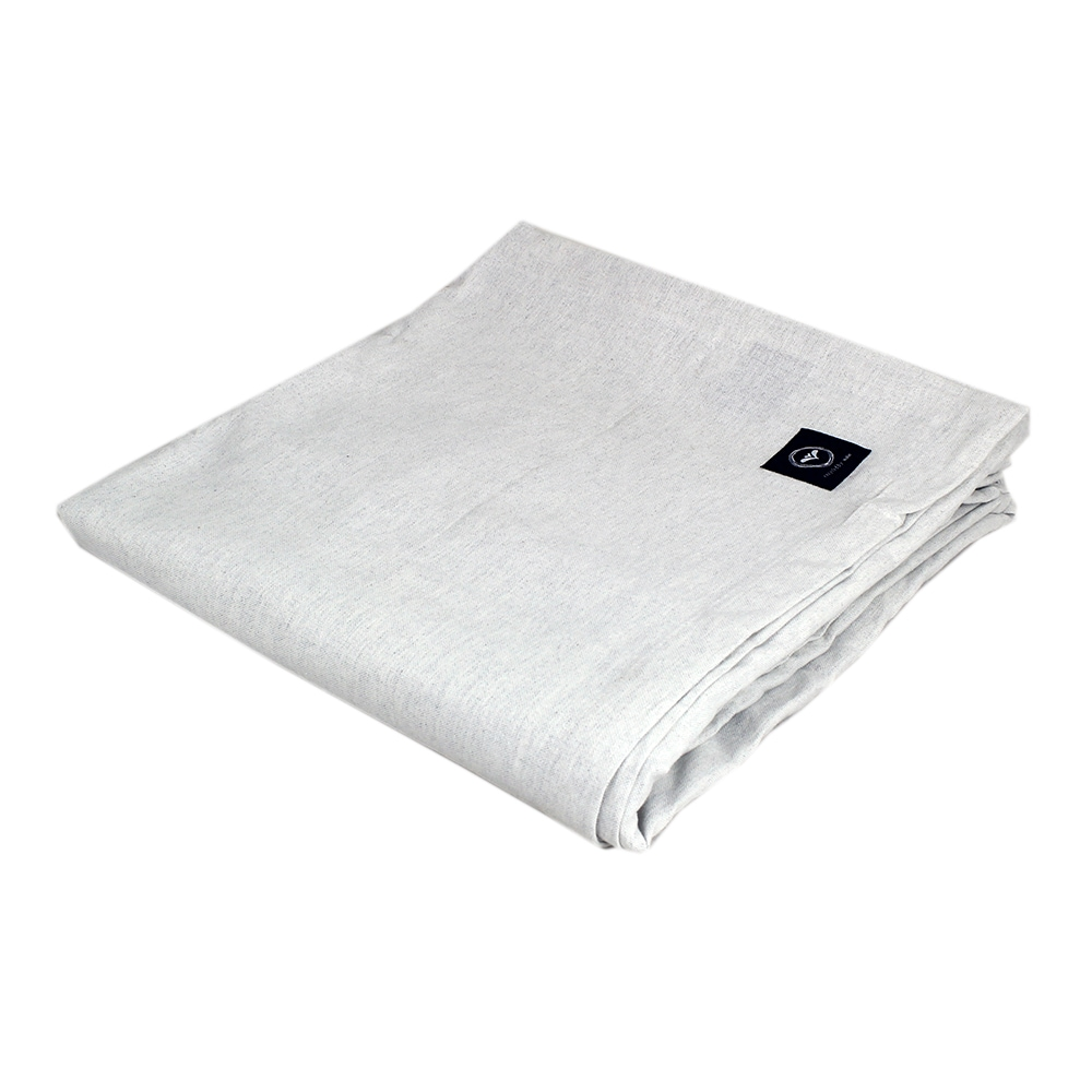 Table Cloth Offwhite/Grey Large