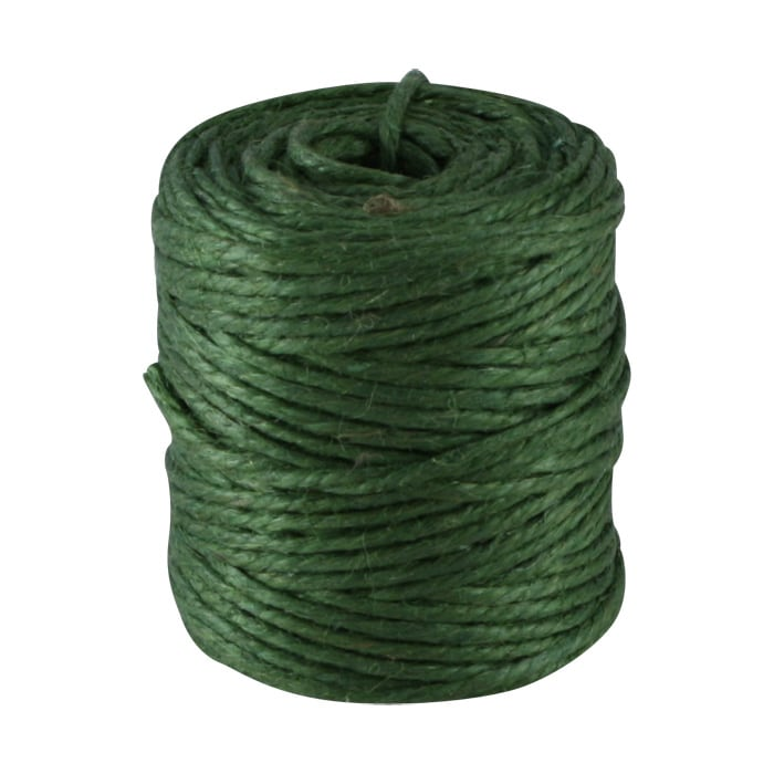 Twine of Jute Cylinder Green