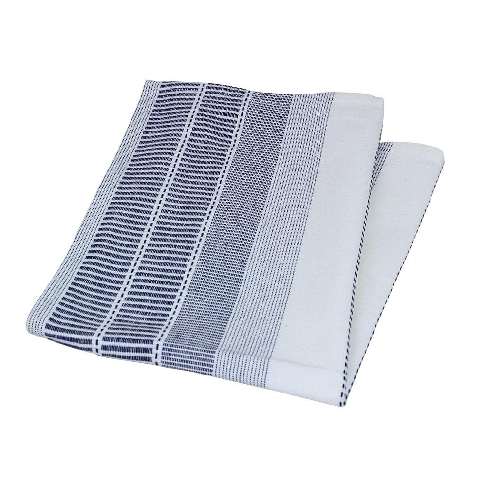 Tea towel Marianne Blue/White