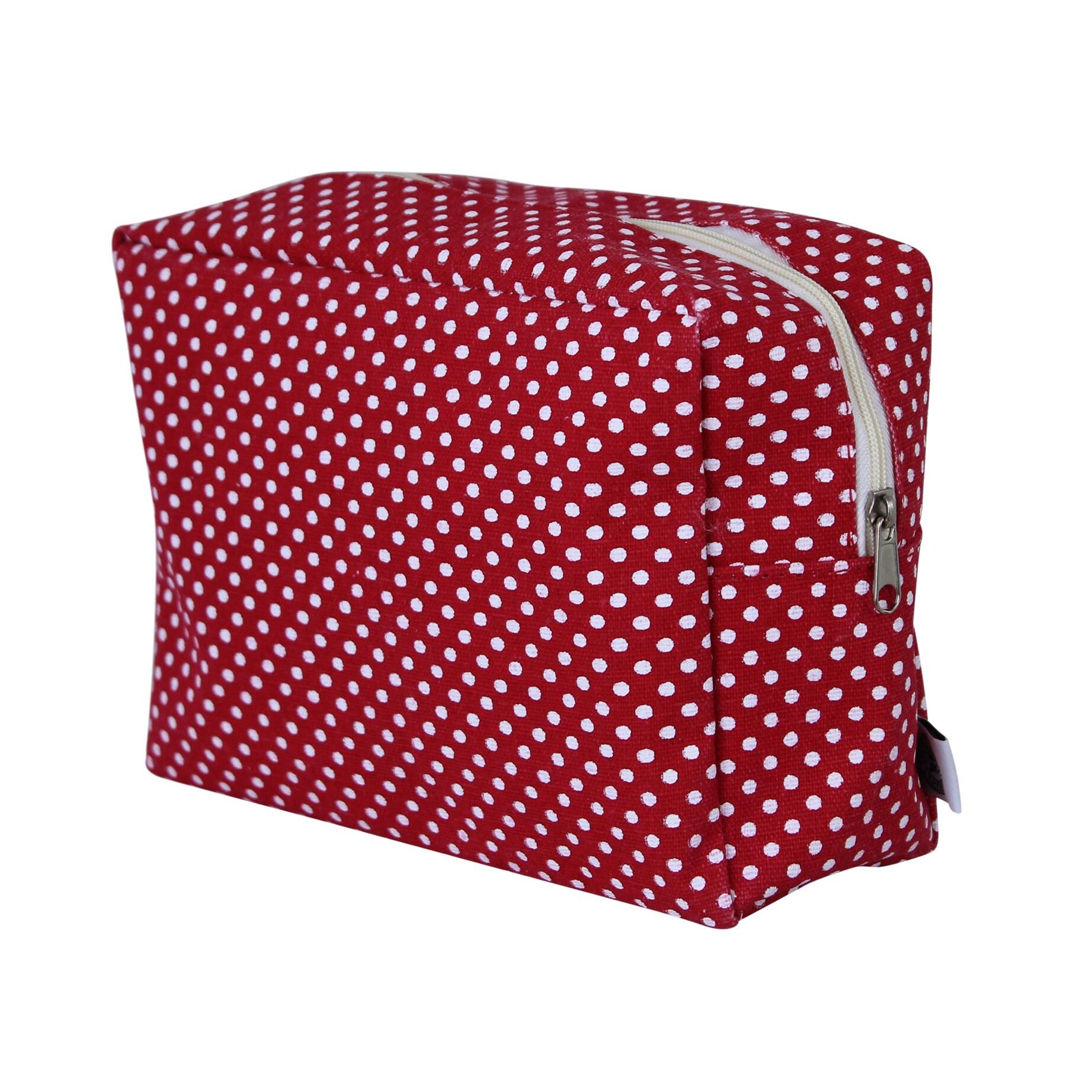 Toilet Bag Dot Red