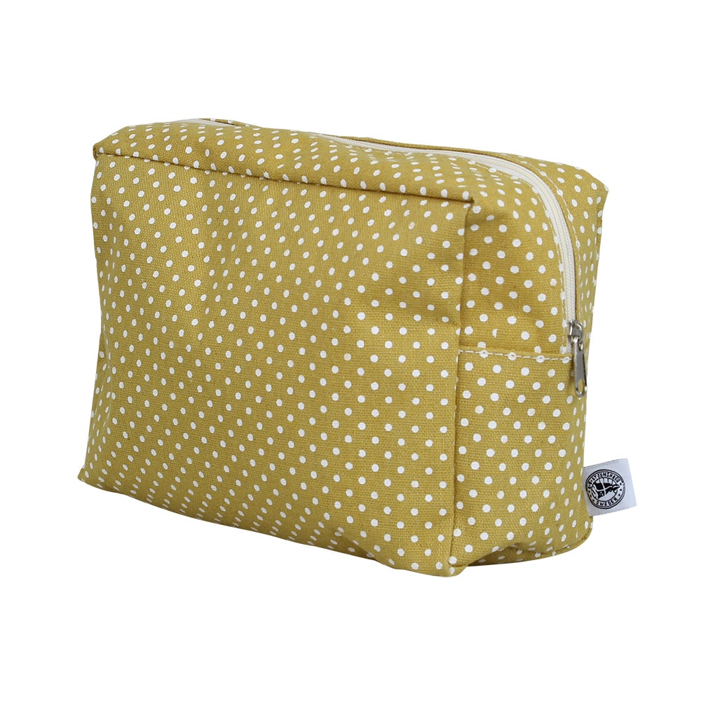 Toilet Bag Dot Yellow