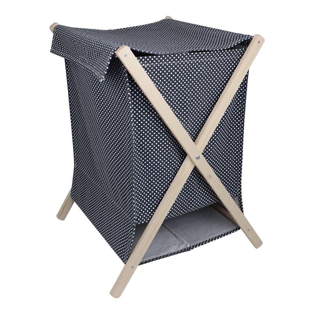 Laundry Basket Dot Blue