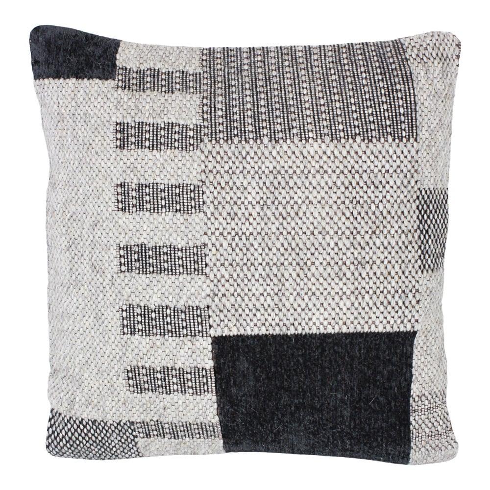 Cushion Cover Noel Black/Natural
