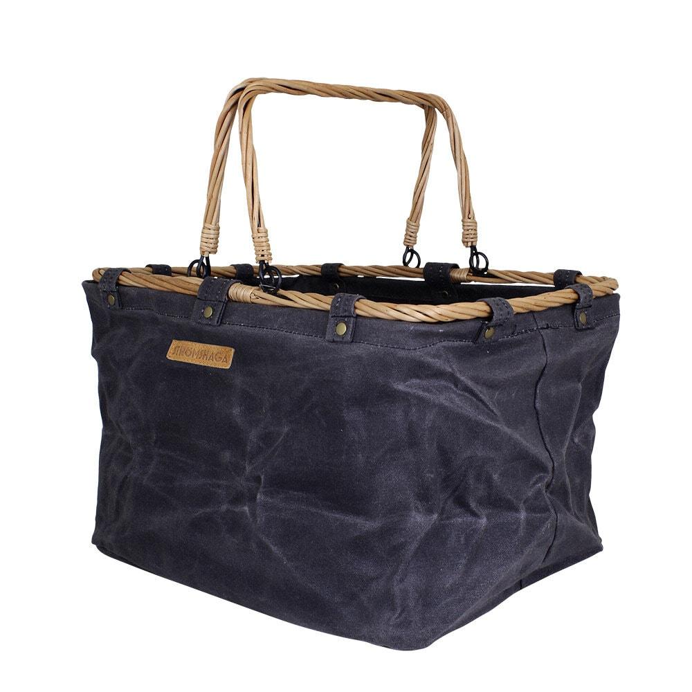 Textile Basket Ruben Blue