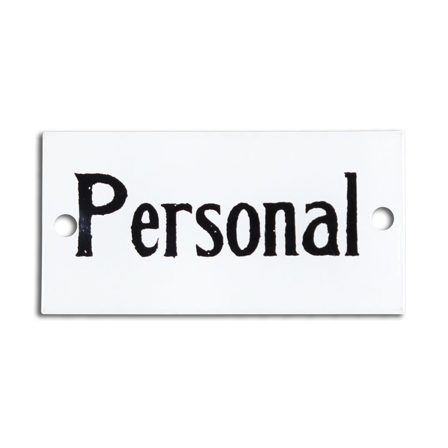 Sign Personal