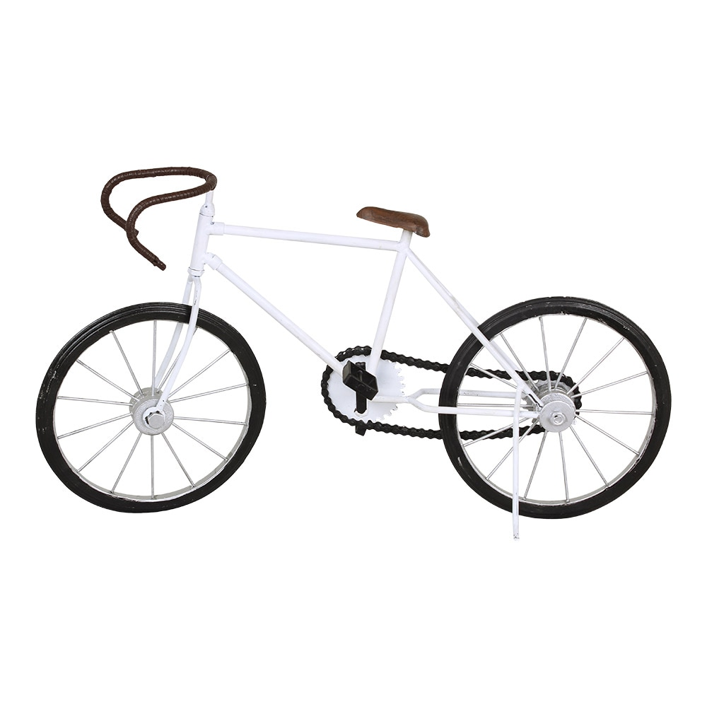 Bicycle Racing White