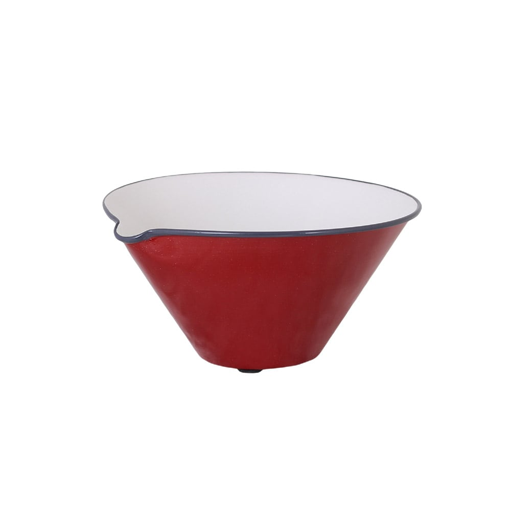 Bowl w. Lip Olle Red Small