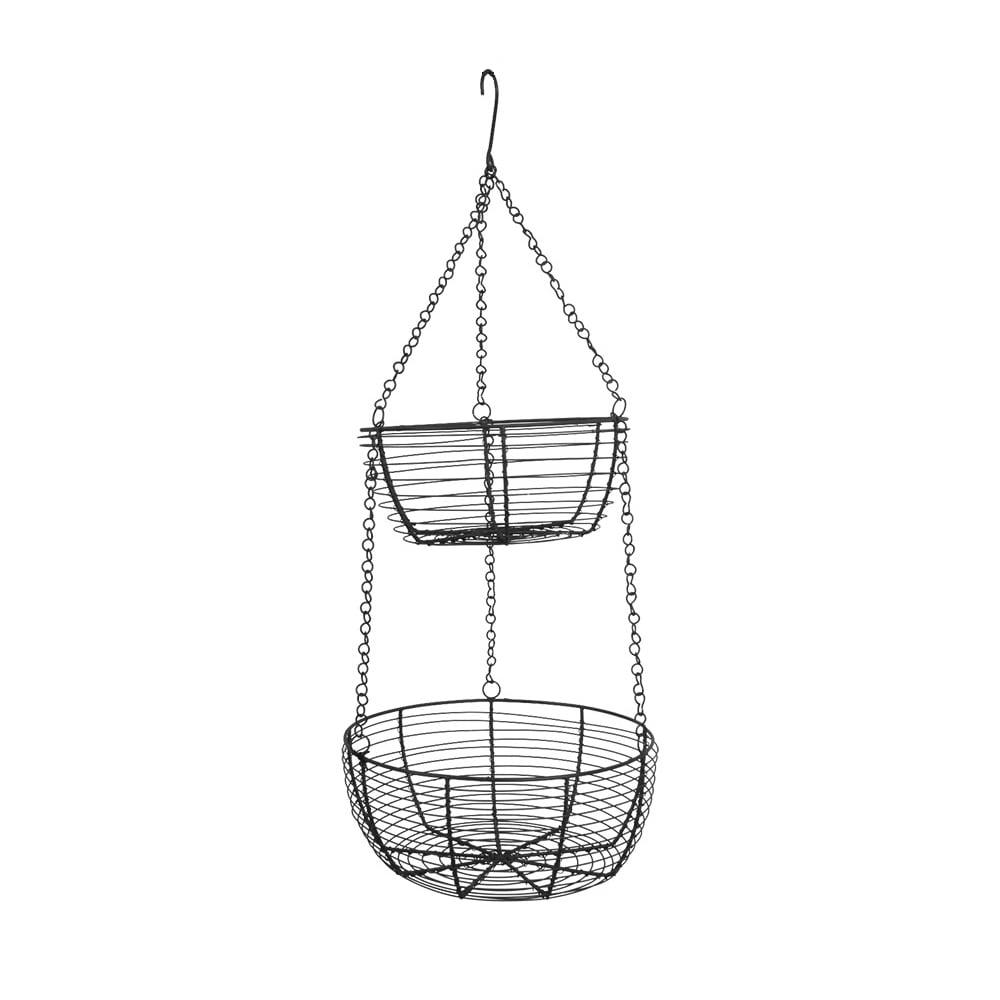 Hanging Basket Black