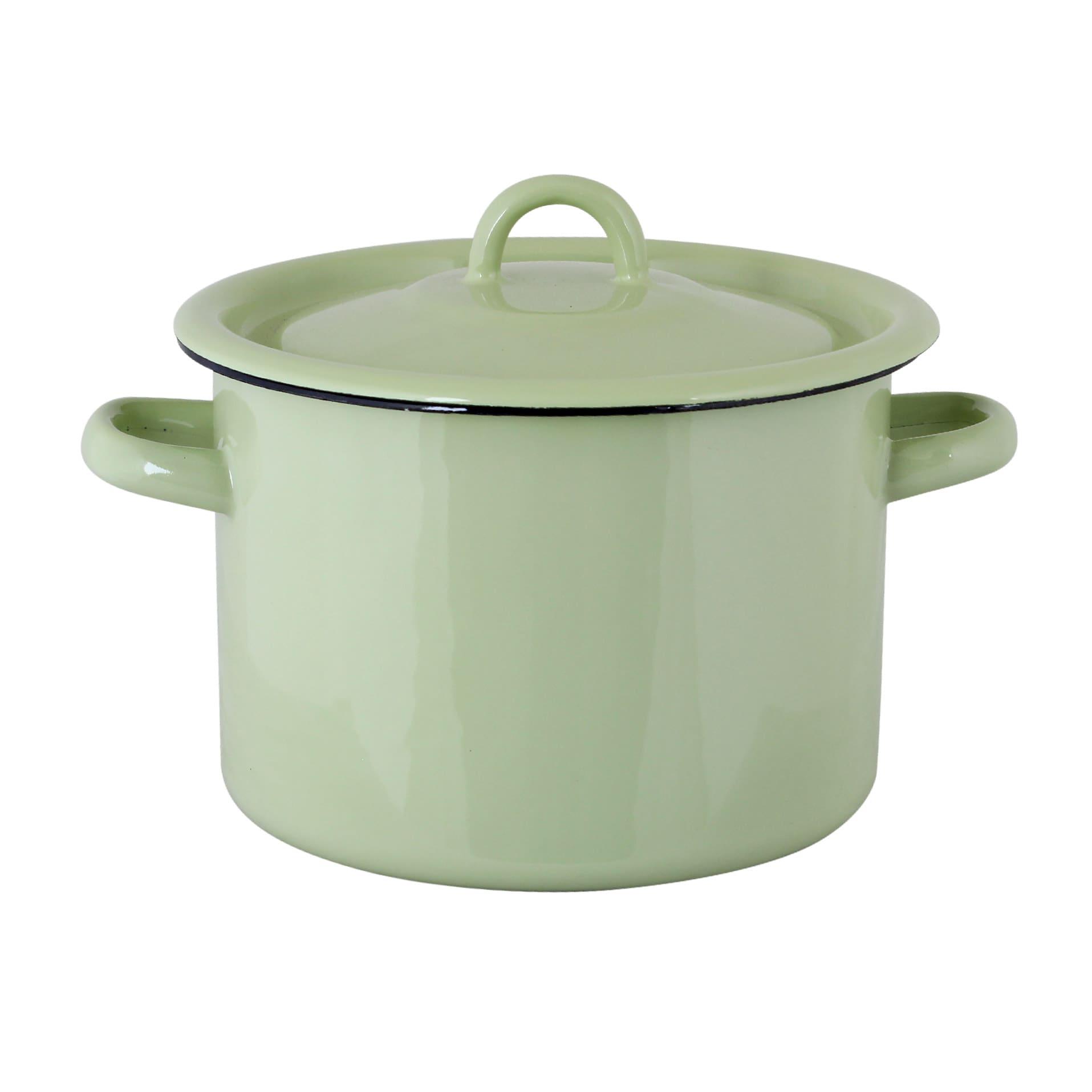 Pot Emil´s Enamel 3L Green
