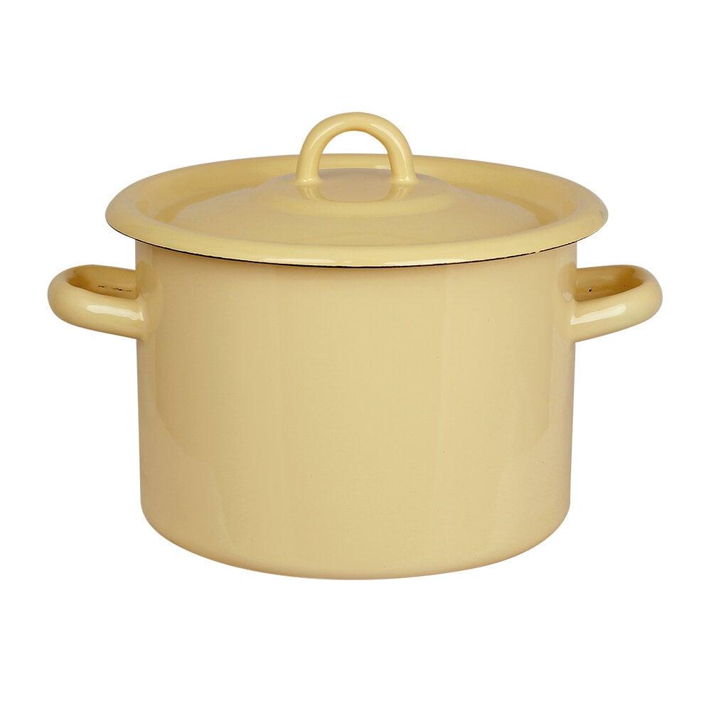 Pot Emil´s Enamel 3L Yellow
