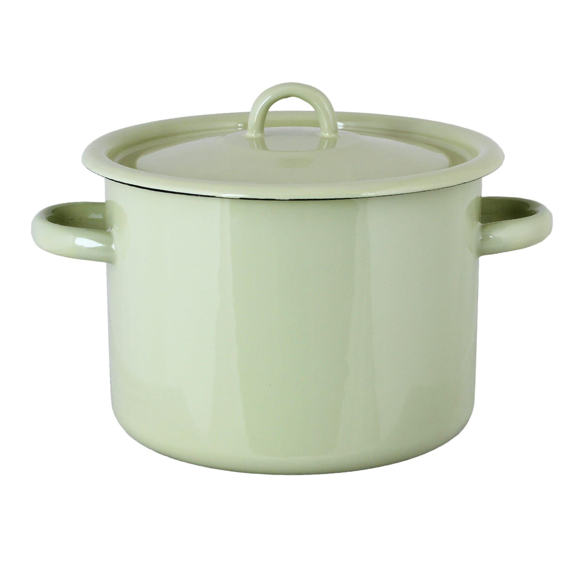Pot Emil´s Enamel 4,5L Green