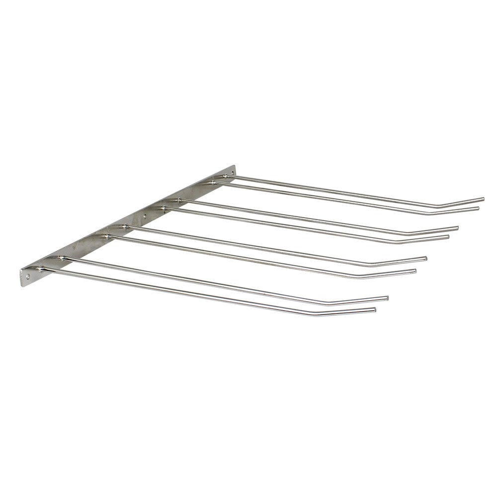 Glass Hanger 4 Rows Stainless Steel