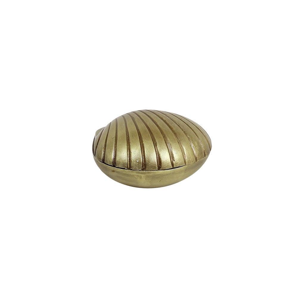 Box Shell Antique Brass