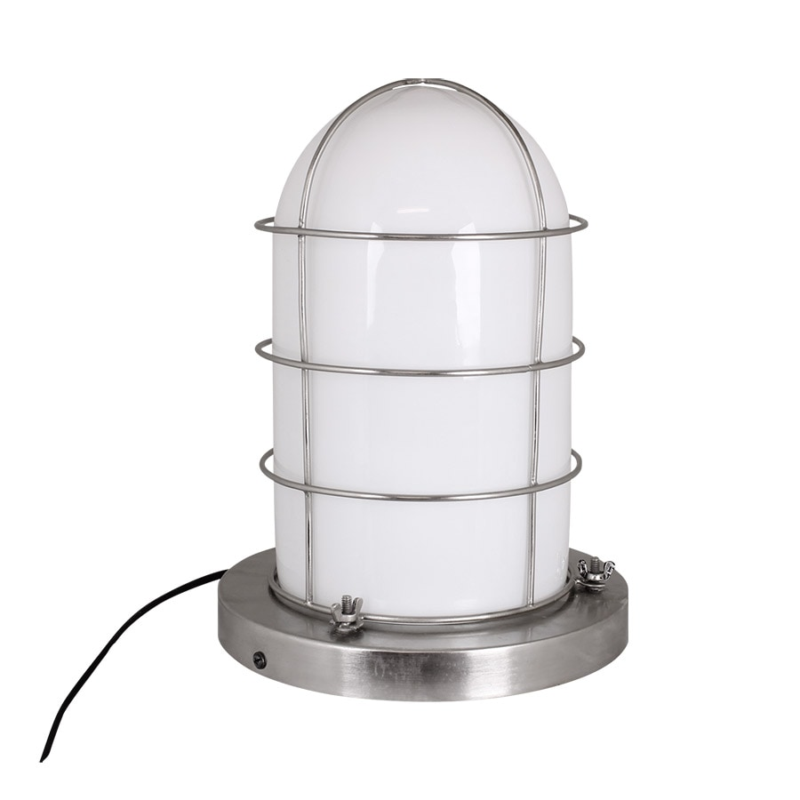 Marine Lamp White/Silver Large