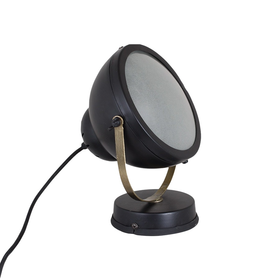 Wall/Table Lamp Spot Black/Brass