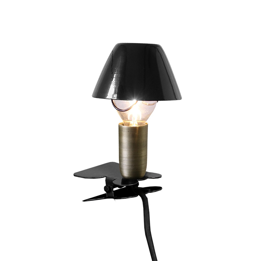 Lamp Mini On Clip Black