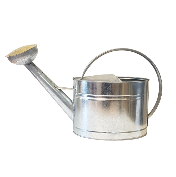 Watering Can Oval Zinc 10L