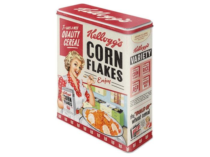Tin Kelloggs Quality Cereal XL