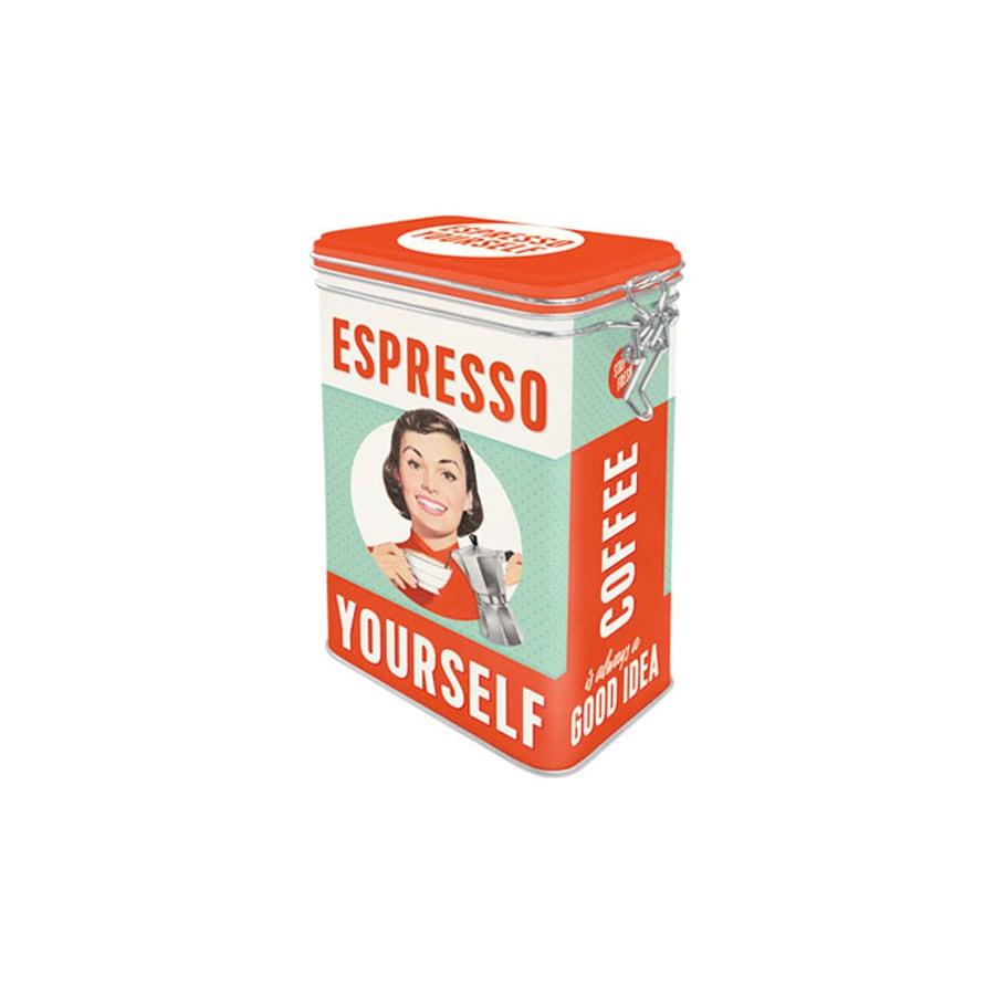 Tin Espresso Yourself