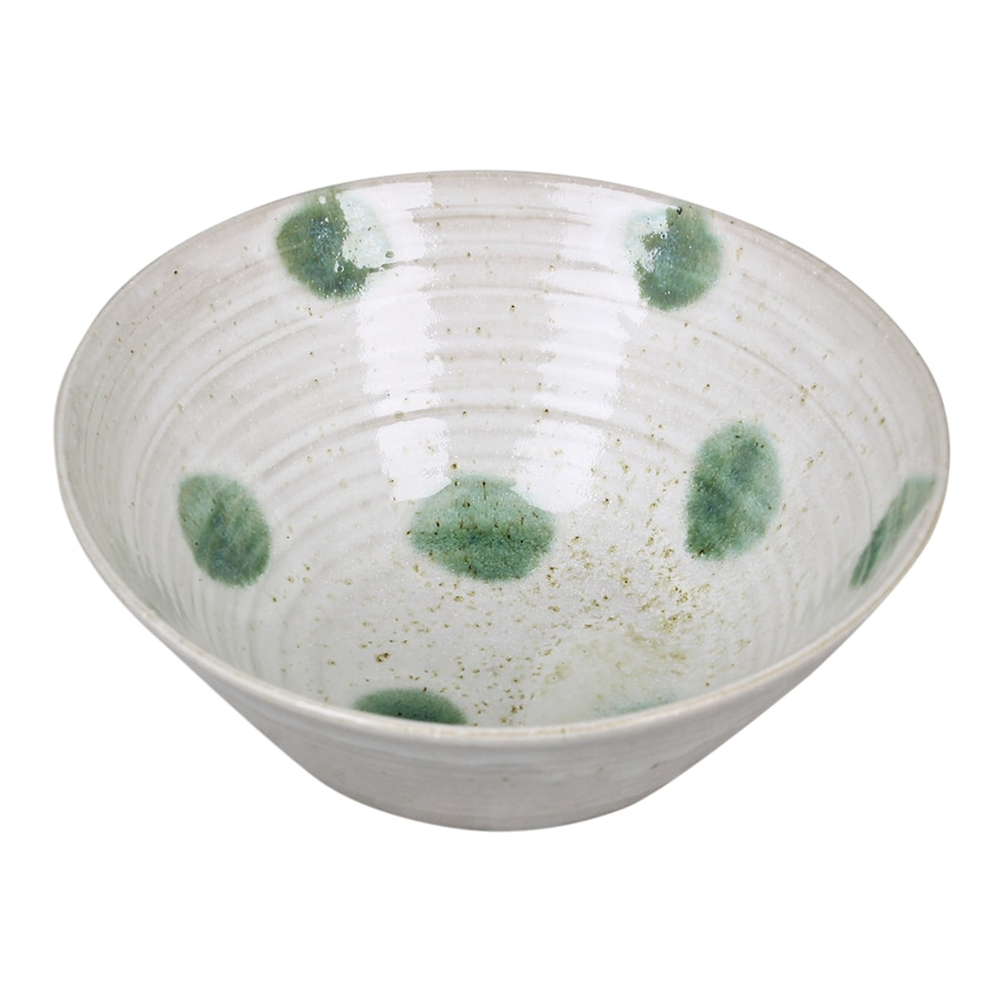 Bowl Medium Dot Green