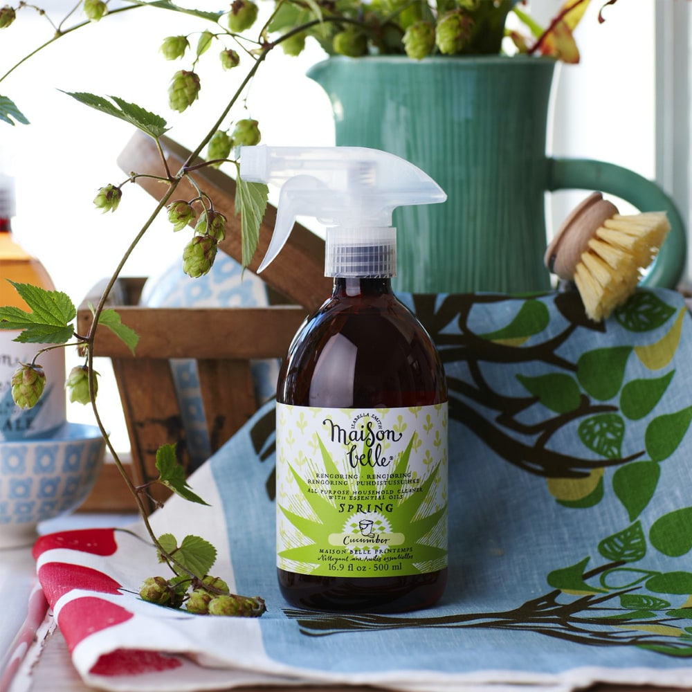 Household Cleaner Spring Cucumber