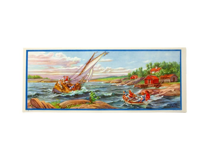 Tapestry On the Lake Small No. 30