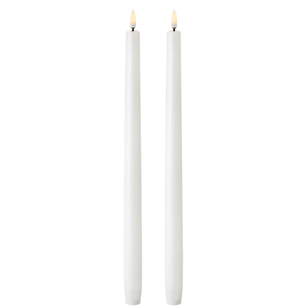 Taper Candles LED High 2-pack