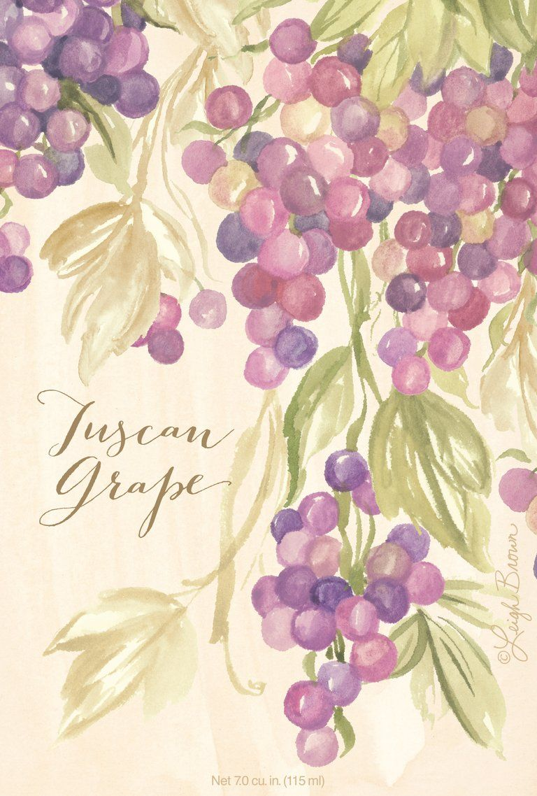 Scented Sachet Tuscan Grape