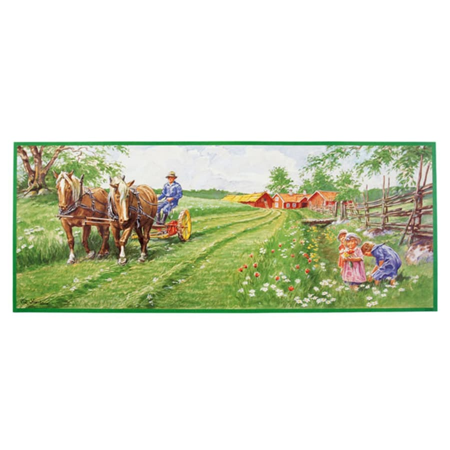 Tapestry When We Plow the Field No. 12