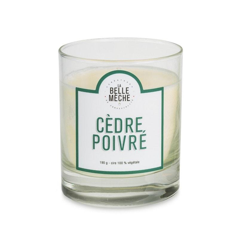 Scented Candle Cedar Peppery Cedar
