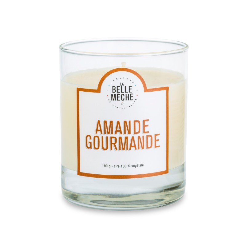 Almond Scented Candle