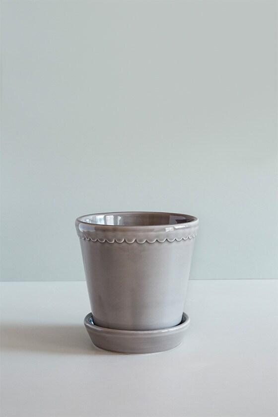 Pot Helena Grey